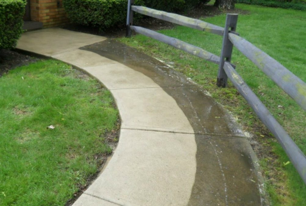 concrete cleaning service