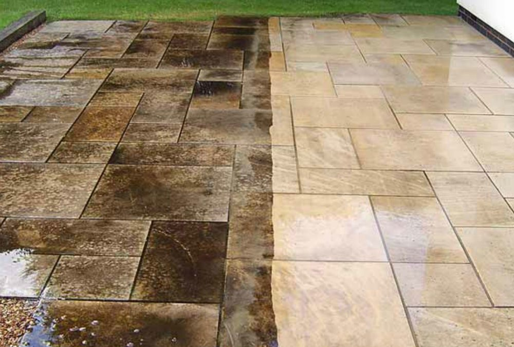 Power Washing Service For Patio Cleaning