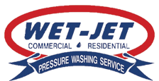 Wet-Jet Pressure Washing logo